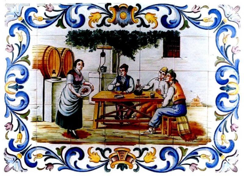 Cer mica art stica valencia azulejos y gres cuadros y for Azulejos ceramicos